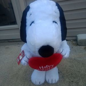"20"" standing Snoopy peanuts new"